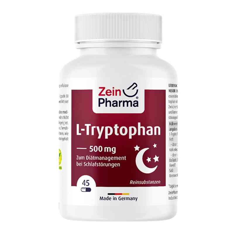 L-tryptophan 500 mg aus Fermentation Kapseln bei apotheke.at bestellen