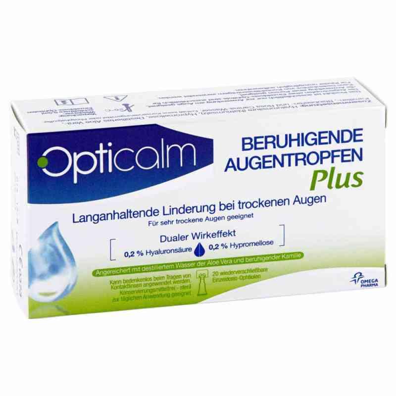 Opticalm beruhigende Augentropfen Plus in Einzeld. bei apotheke.at bestellen
