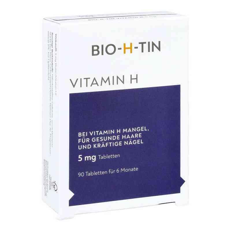 Bio-h-tin Vitamin H 5 mg für 6 Monate Tabletten  bei apotheke.at bestellen