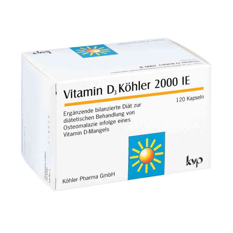 Vitamin D3 Köhler 2000 Ie Kapseln bei apotheke.at bestellen