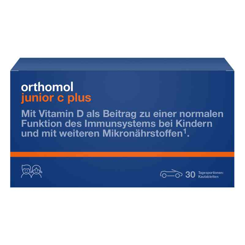 Orthomol Junior C plus Kautablette (n) mandarine/orange bei apotheke.at bestellen