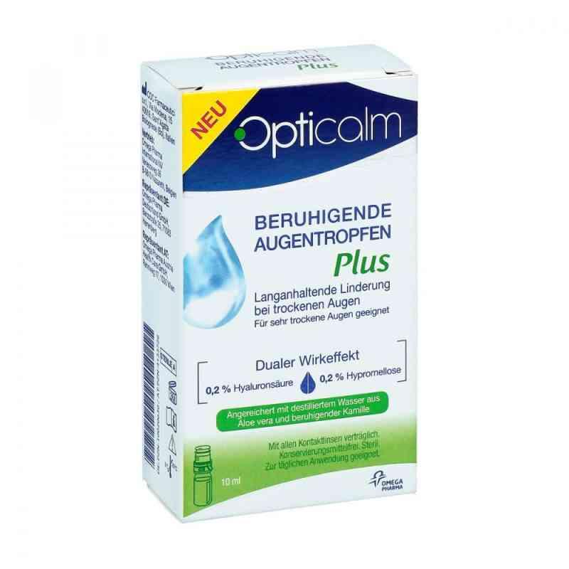 Opticalm beruhigende Augentropfen Plus  bei apotheke.at bestellen