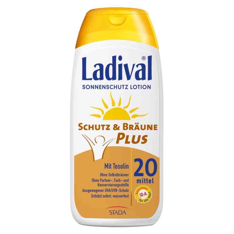 Ladival Schutz&bräune Plus Lotion Lsf 20  bei apotheke.at bestellen