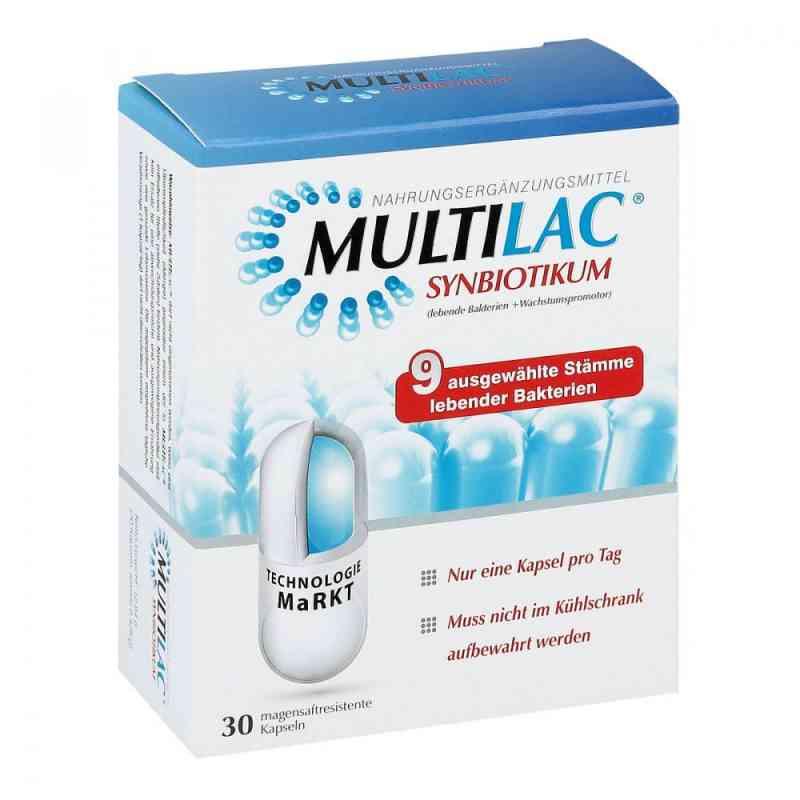 Multilac Synbiotikum magensaftresistente Kapseln bei apotheke.at bestellen