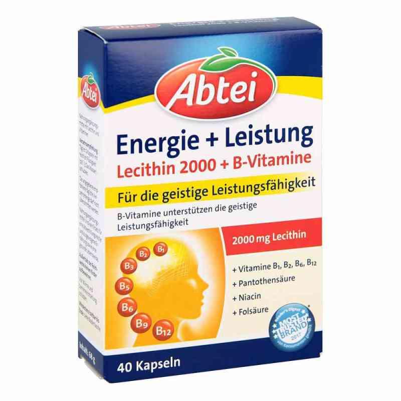Abtei Lecithin 2000 Plus B-vitamine Kapseln bei apotheke.at bestellen