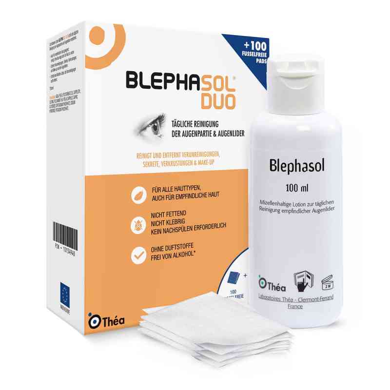 Blephasol Duo 100 ml Lotion+100 Reinigungspads  bei apotheke.at bestellen
