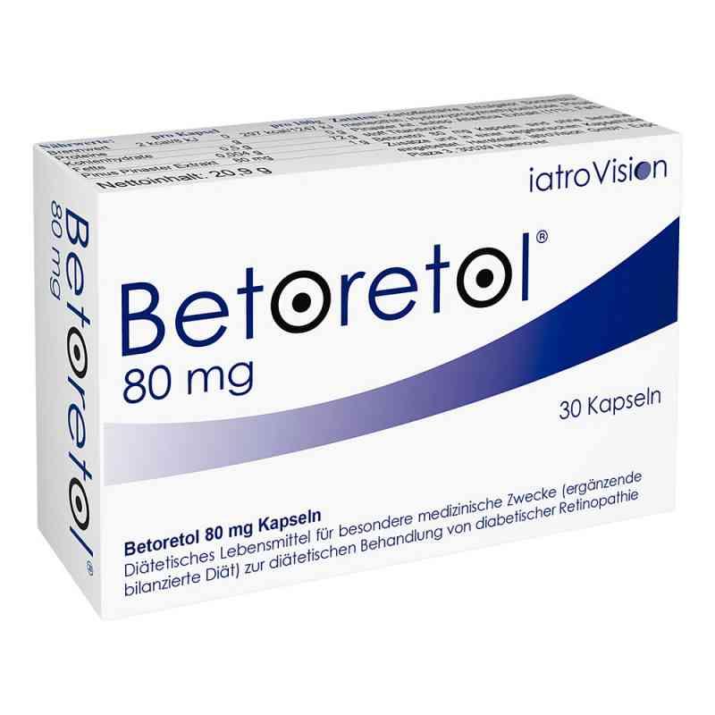Betoretol 80 mg Kapseln  bei apotheke.at bestellen