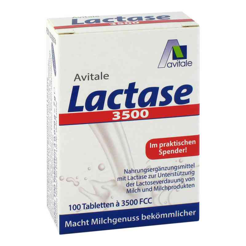 Lactase 3500 Fcc Tabletten im Klickspender  bei apotheke.at bestellen
