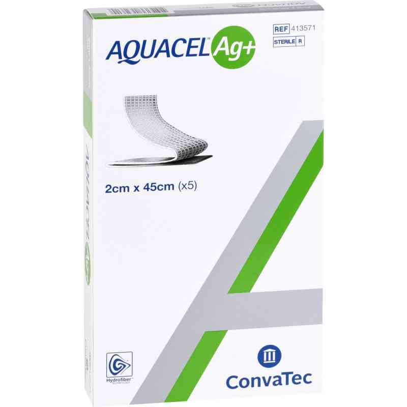 Aquacel Ag+ 2x45 cm Tamponaden  bei apotheke.at bestellen