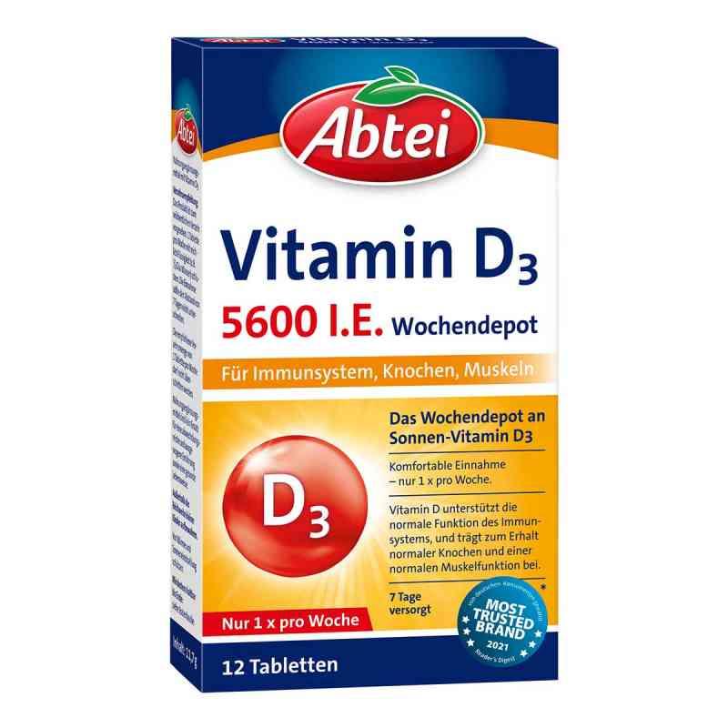 Abtei Vitamin D3 5.600 I.e. Wochendepot Tabletten  bei apotheke.at bestellen