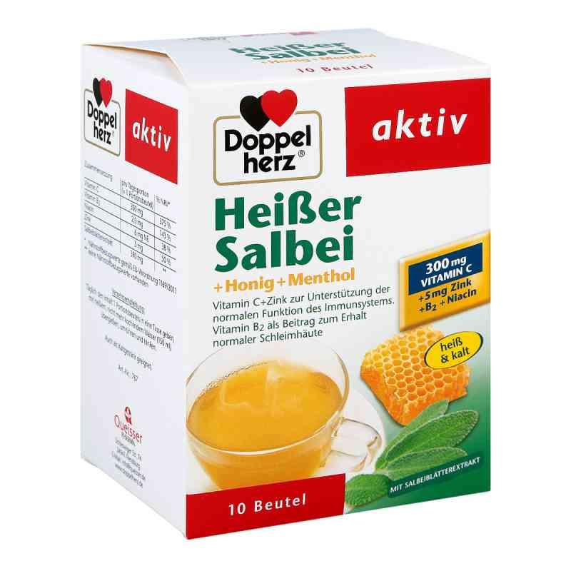 Doppelherz Heisser Salbei+honig+menthol Granulat  bei apotheke.at bestellen