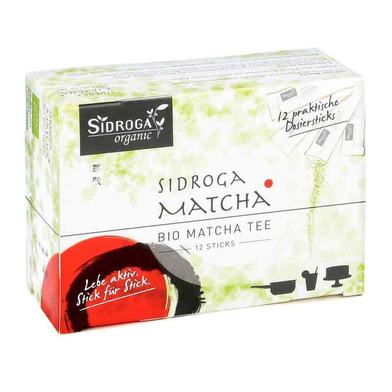 Sidroga organic Matcha Tee Sticks bei apotheke.at bestellen