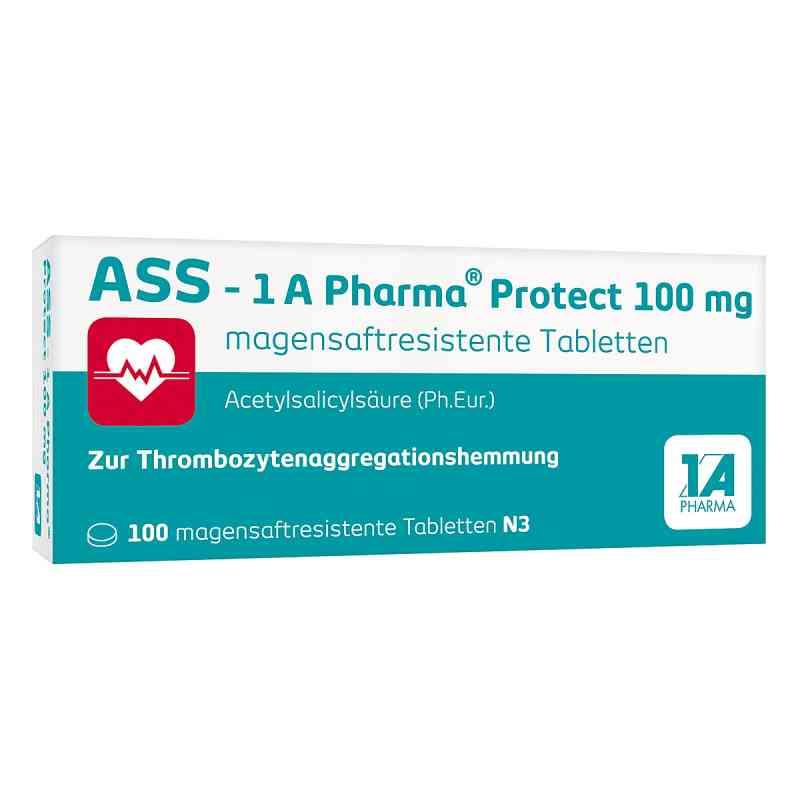 Ass 1a Pharma Protect 100 mg magensaftresistent Tabletten  bei apotheke.at bestellen