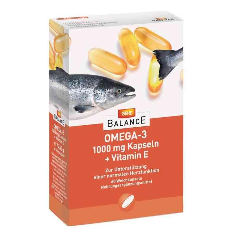 Gehe Balance Omega-3 1.000 mg Kapseln+vitamin E  bei apotheke.at bestellen