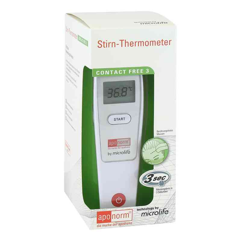 Aponorm Fieberthermometer Stirn Contact-free 3  bei apotheke.at bestellen