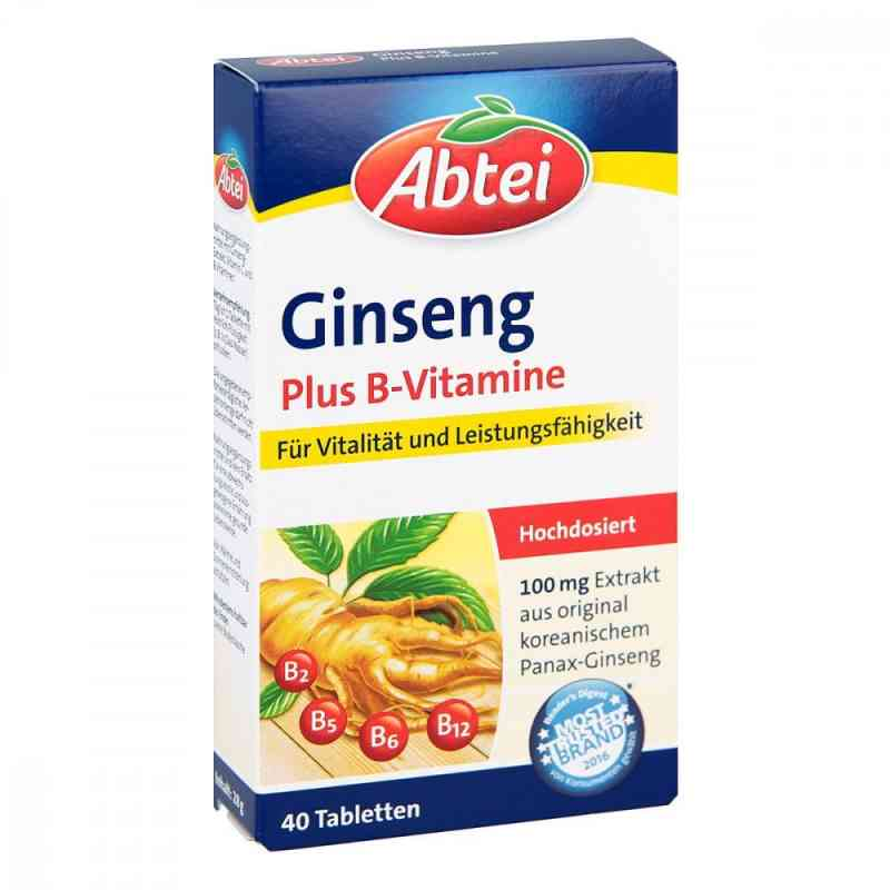 Abtei Ginseng Plus B-vitamine Tabletten  bei apotheke.at bestellen
