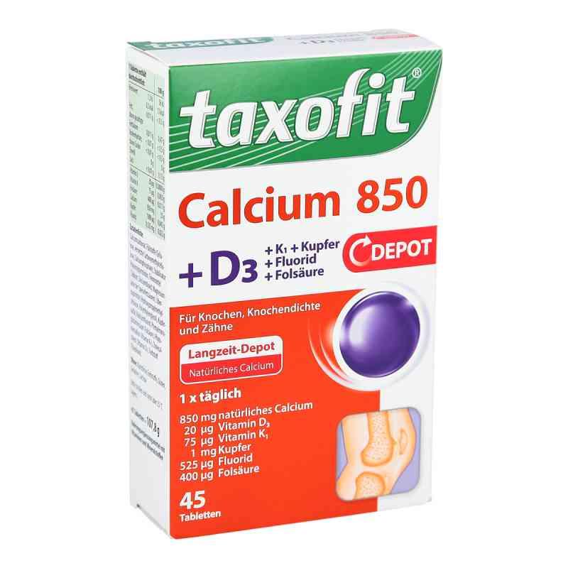 Taxofit Calcium 850+d3 Depot Tabletten bei apotheke.at bestellen