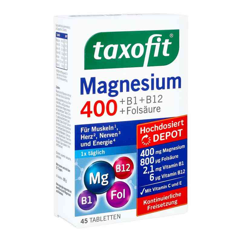 Taxofit Magnesium 400 Tabletten  bei apotheke.at bestellen