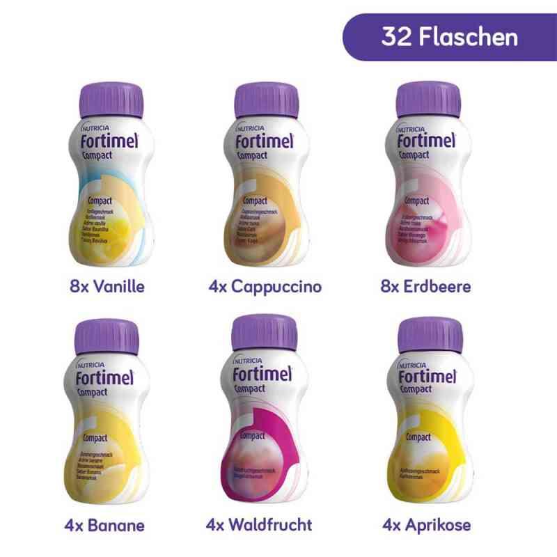 Fortimel Compact 2.4 Mischkarton  bei apotheke.at bestellen