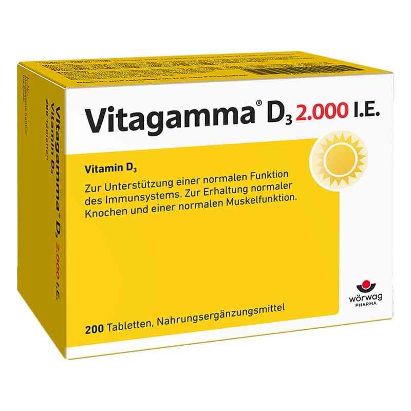 Vitagamma D3 2.000 I.e. Vitamin D3 Nem Tabletten  bei apotheke.at bestellen