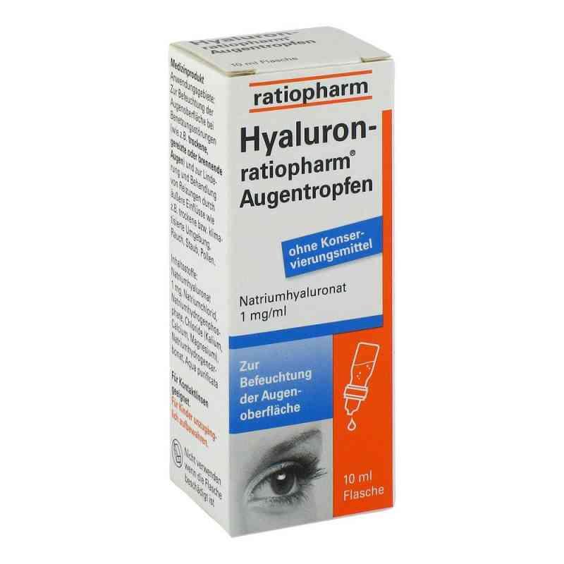 Hyaluron Ratiopharm Augentropfen bei apotheke.at bestellen
