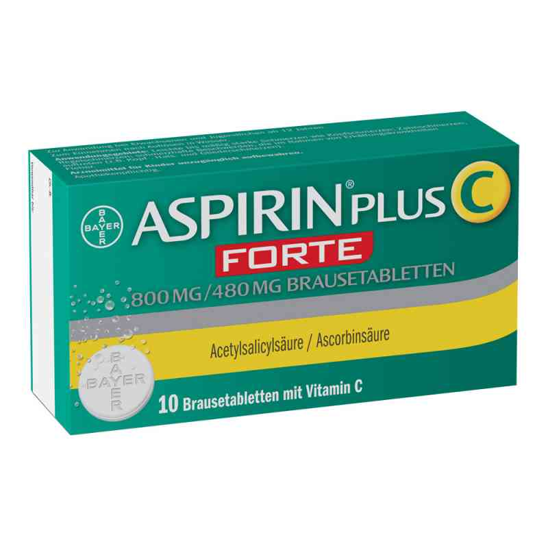 Aspirin plus C Forte 800mg/480mg Brausetabletten  bei apotheke.at bestellen