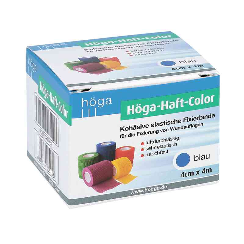 Höga Haft Color Fixierbinde 4 cmx4 m blau bei apotheke.at bestellen