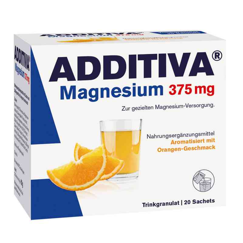 Additiva Magnesium 375 mg Granulat Orange  bei apotheke.at bestellen