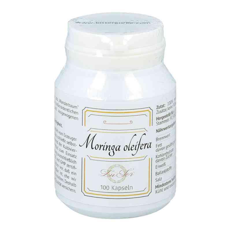 Moringa oleifera Blattpulver in Gelatinekapseln bei apotheke.at bestellen