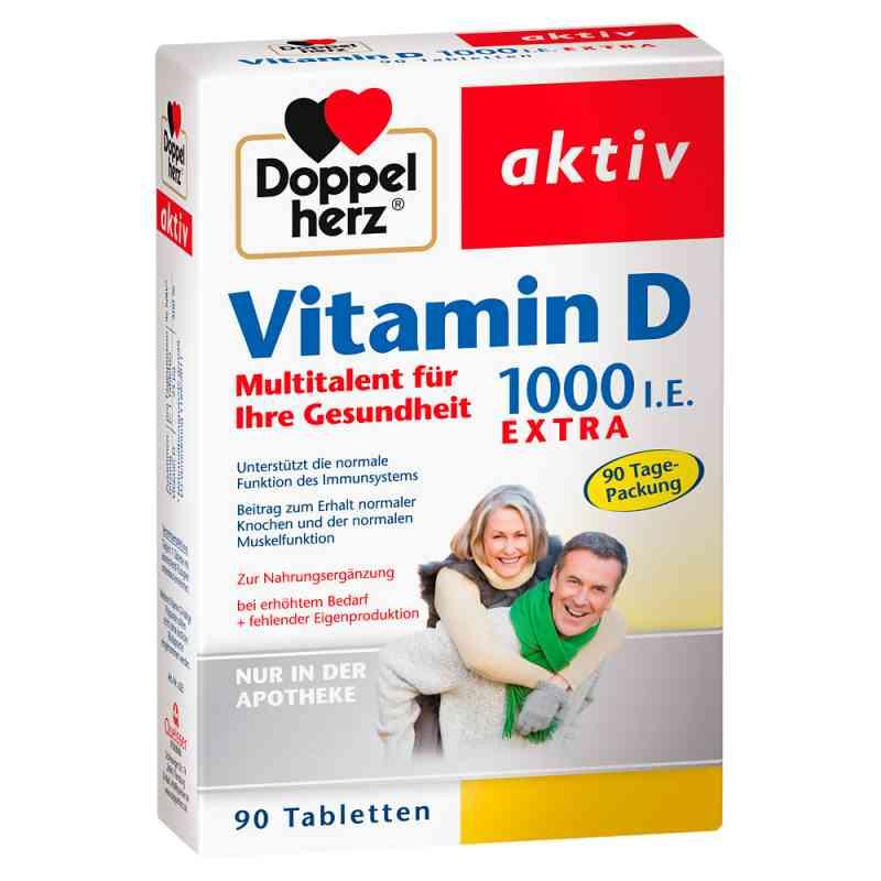 Doppelherz Vitamin D 1.000 I.e. Extra Tabletten bei apotheke.at bestellen