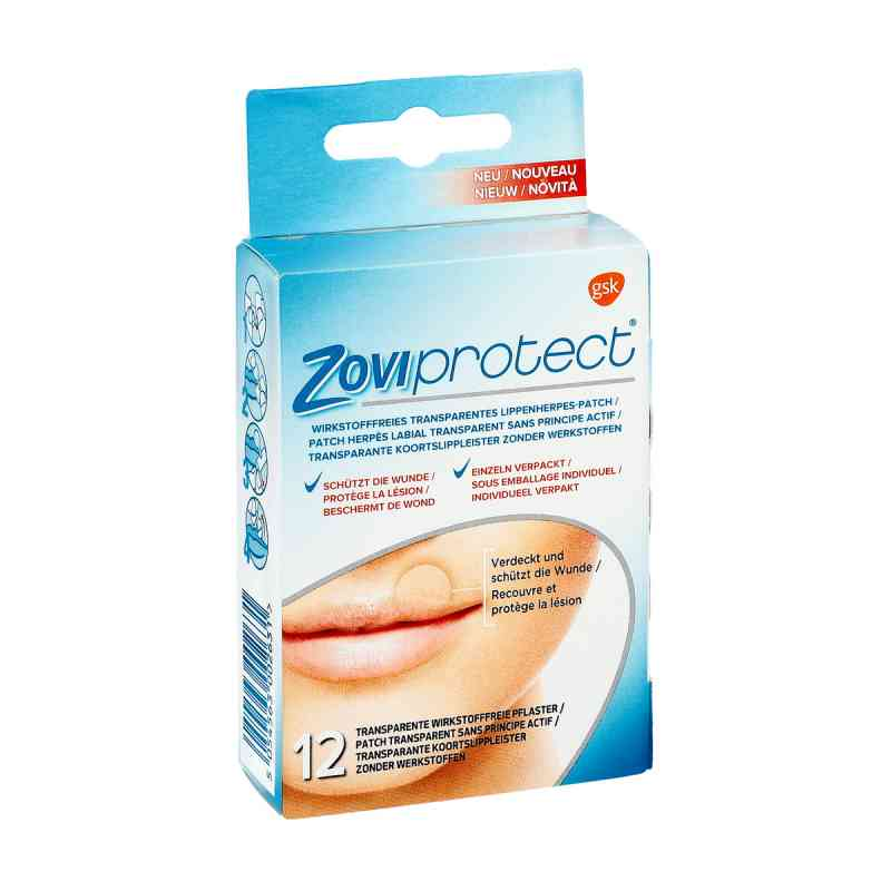 Zoviprotect Lippenherpes-patch transparent bei apotheke.at bestellen