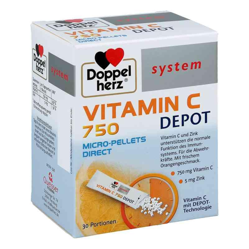 Doppelherz Vitamin C 750 Depot system Pellets  bei apotheke.at bestellen
