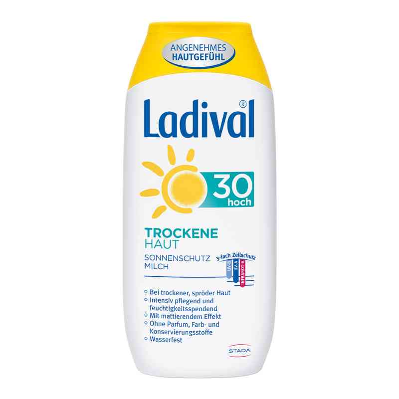 Ladival trockene Haut Milch Lsf 30  bei apotheke.at bestellen