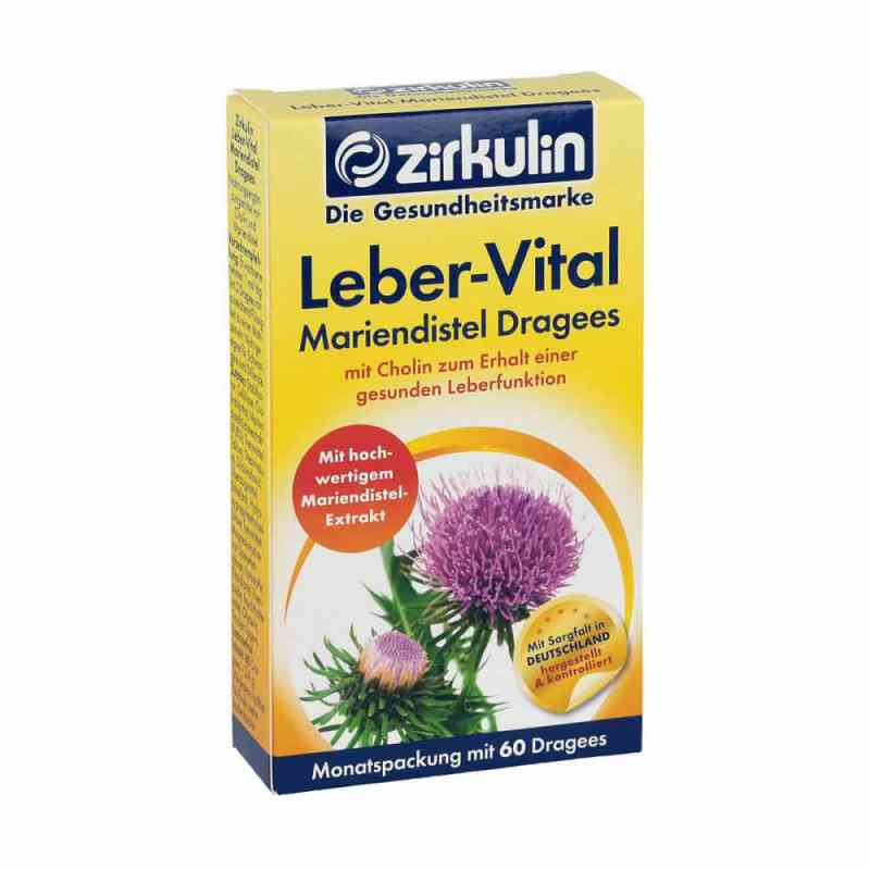 Zirkulin Leber-vital Mariendistel Dragees bei apotheke.at bestellen
