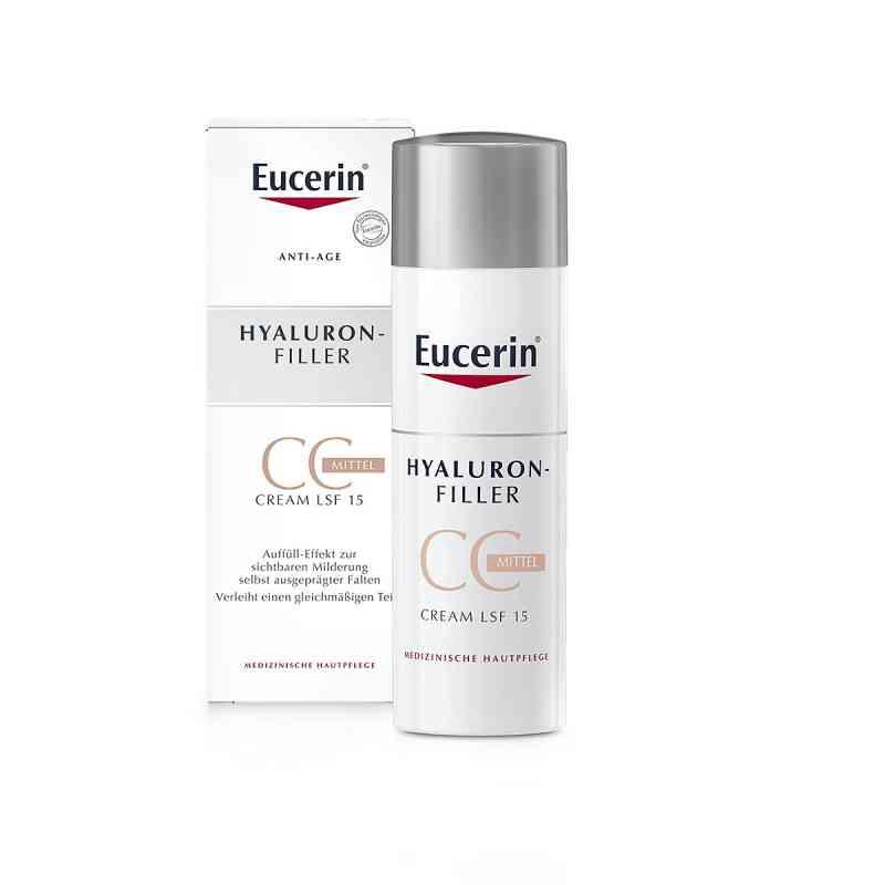 Eucerin Anti-age Hyaluron-filler Cc Cream mittel bei apotheke.at bestellen