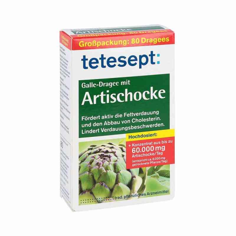 Tetesept Galle-Dragee mit Artischocke  bei apotheke.at bestellen