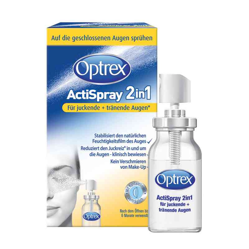 Optrex Actispray2in1 für juckende+tränende Augen  bei apotheke.at bestellen