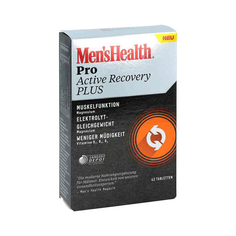Men's Health Pro Active Recovery Plus Tabletten bei apotheke.at bestellen