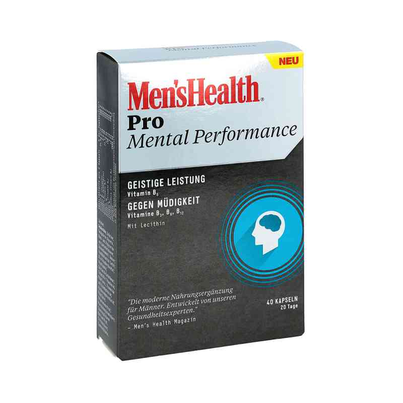 Men's Health Pro Mental Performance Kapseln bei apotheke.at bestellen