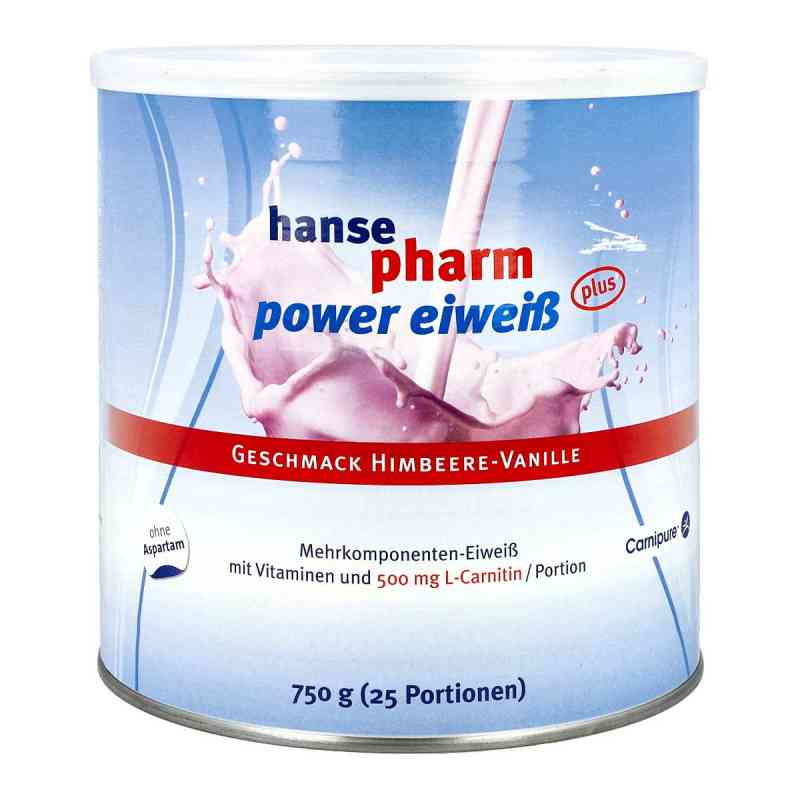 Hansepharm Power Eiweiss plus Himbeere-vanille Plv bei apotheke.at bestellen