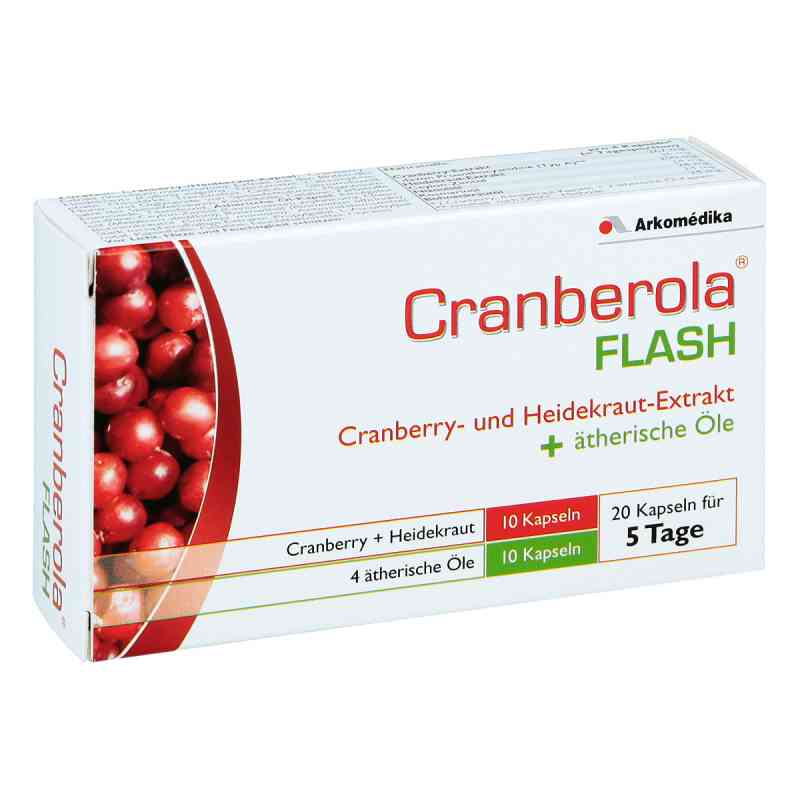 Cranberola Flash Kapseln  bei apotheke.at bestellen