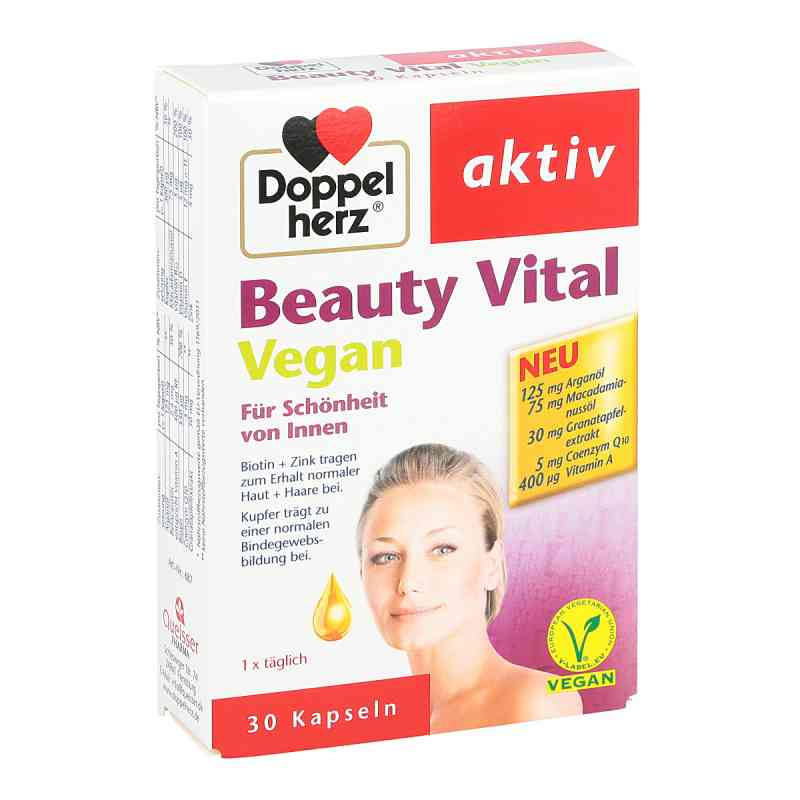 Doppelherz Beauty Vital vegan Kapseln bei apotheke.at bestellen