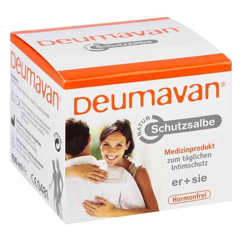 Deumavan Schutzsalbe Natur ohne Lavendel Dose  bei apotheke.at bestellen