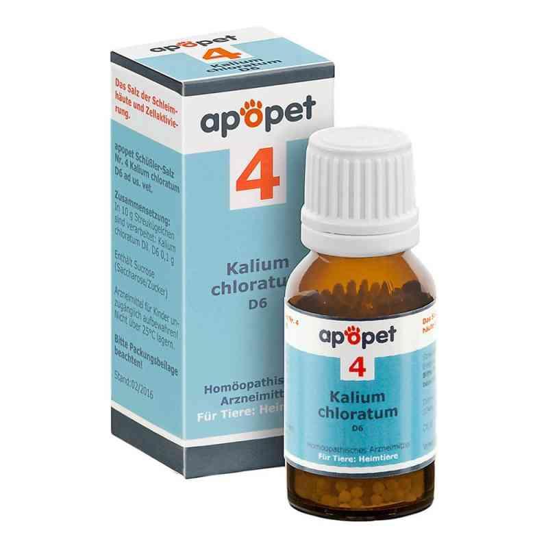 Apopet Schüssler-salz Nummer 4  Kalium chlor.D 6 veterinär   bei apotheke.at bestellen
