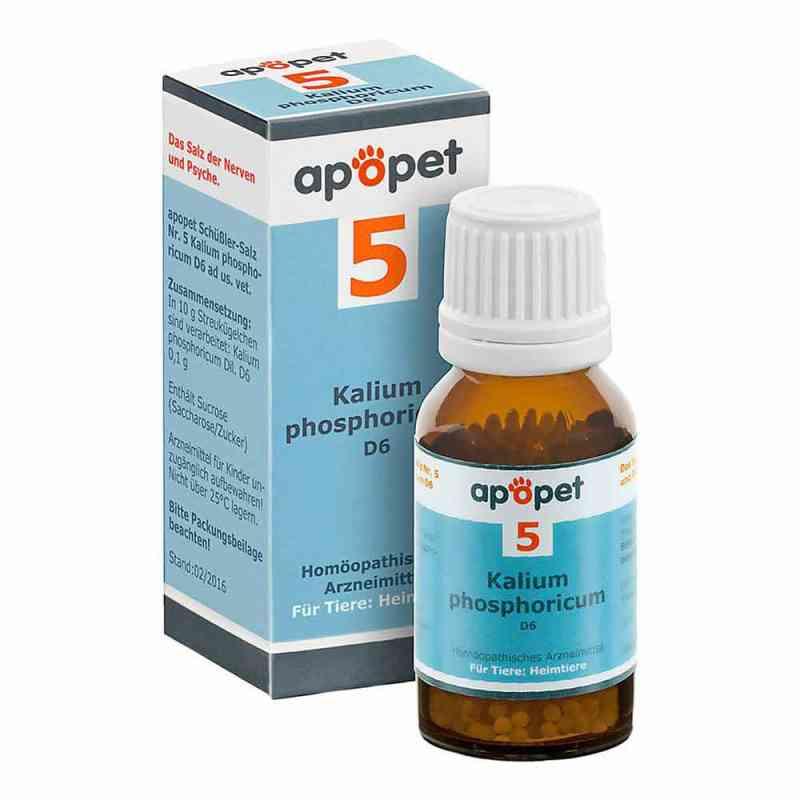 Apopet Schüssler-salz Nummer 5  Kalium phosphoricum D  6 veterin bei apotheke.at bestellen