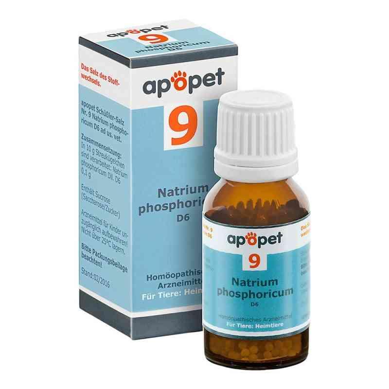 Apopet Schüssler-salz Nummer 9  Natrium phosphoricum D  6 veteri bei apotheke.at bestellen