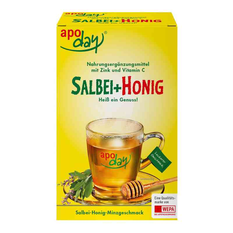 Apoday heisser Salbei+honig+vit.c+zink Pulver  bei apotheke.at bestellen