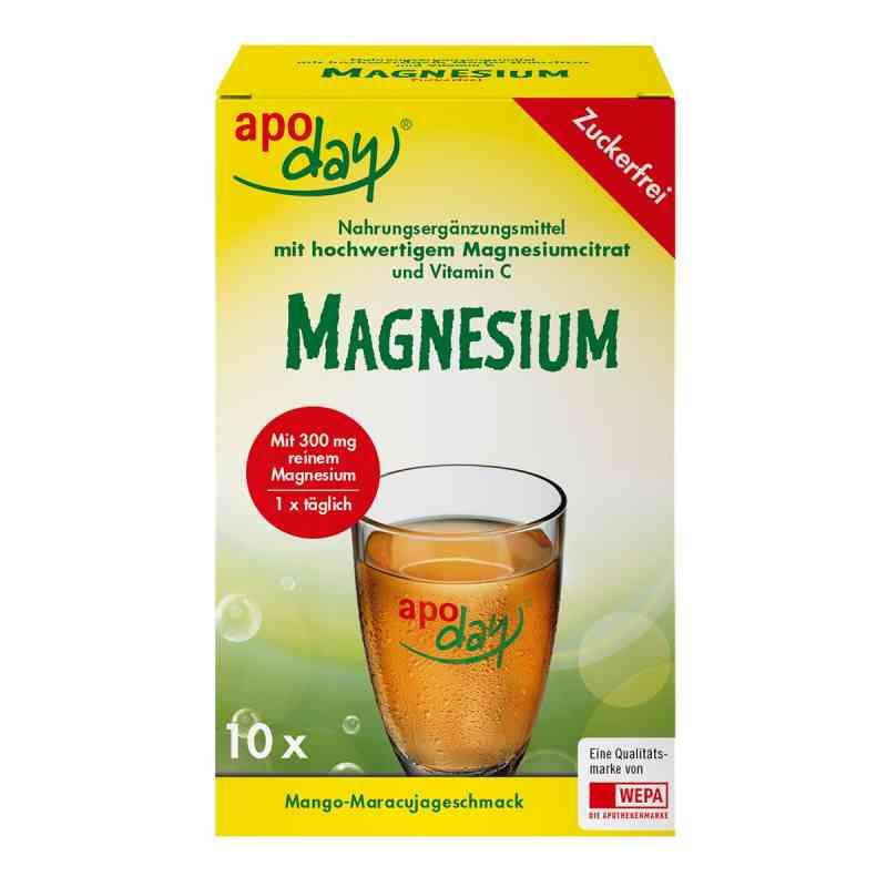 Apoday Magnesium Mango-maracuja zuckerfrei Pulver bei apotheke.at bestellen