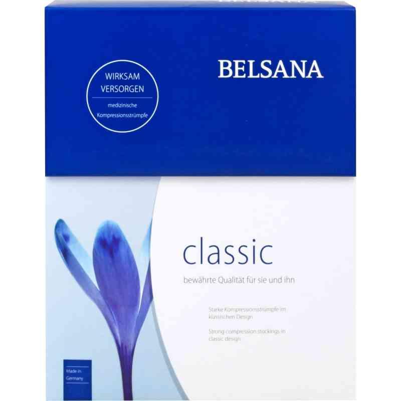 Belsana Classic K2 Ad 5 schwarz mit Spitze l.F.  bei apotheke.at bestellen