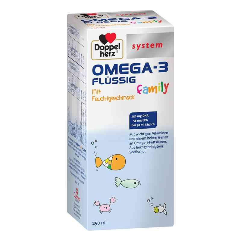 Doppelherz Omega-3 family flüssig system  bei apotheke.at bestellen